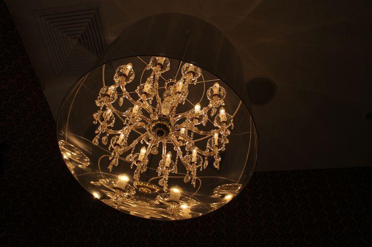 Lámpara en Simon Mansion, Hard Rock Hotel & Casino Punta Cana