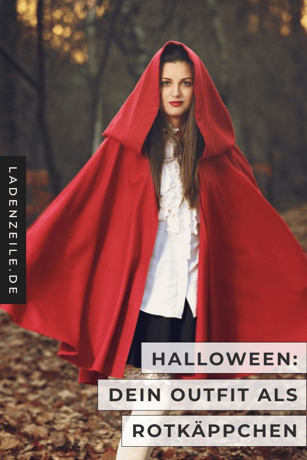 This is how the Little Red Riding Hood costume succeeds