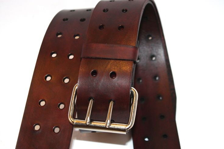 Mahogany Leather Guitar strap, super adjustable.