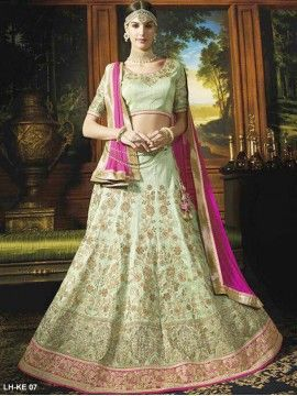Traditional Thread Work Lehenga
