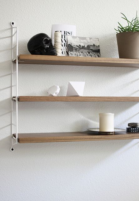 The String Shelf - The Scandinavian design classic, designed by Nils Strinning 1949. #stringshelf