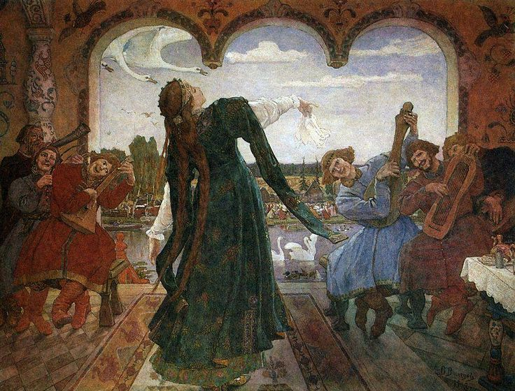 Галерея - Картина: Царевна-Лягушка. 1901-1918 - Художник: Васнецов Виктор