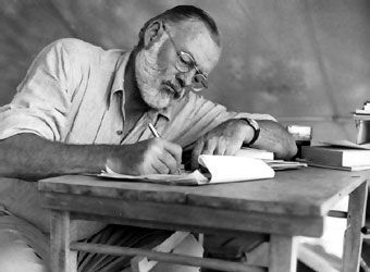 "Taller de Escrituras Creativas EnEspiral: Ernest Hemingway: ""Varios consejos"""