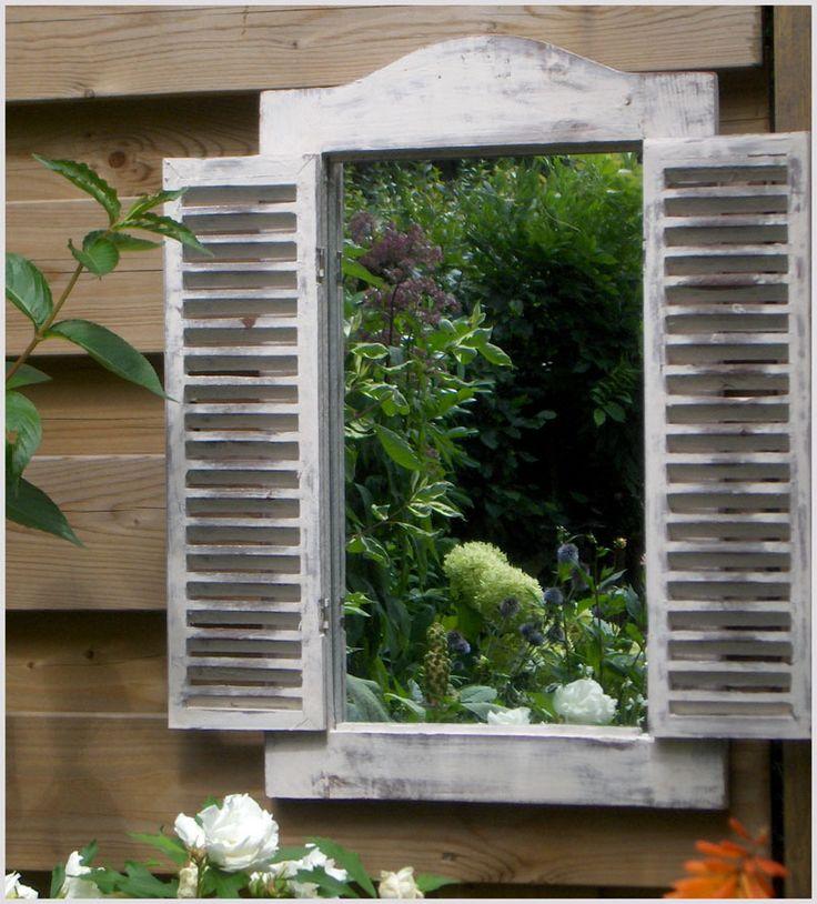 17 beste idee n over tuin spiegels op pinterest buiten spiegel privacy in de tuin en kleine - Spiegel voor ingang ...