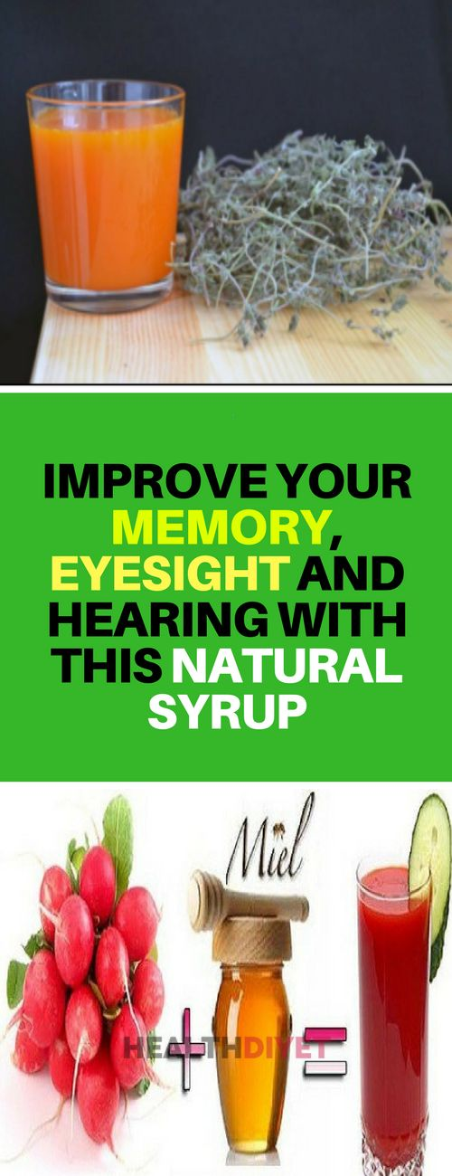 Improve your memory, eyesight, and hearing this natural syrup