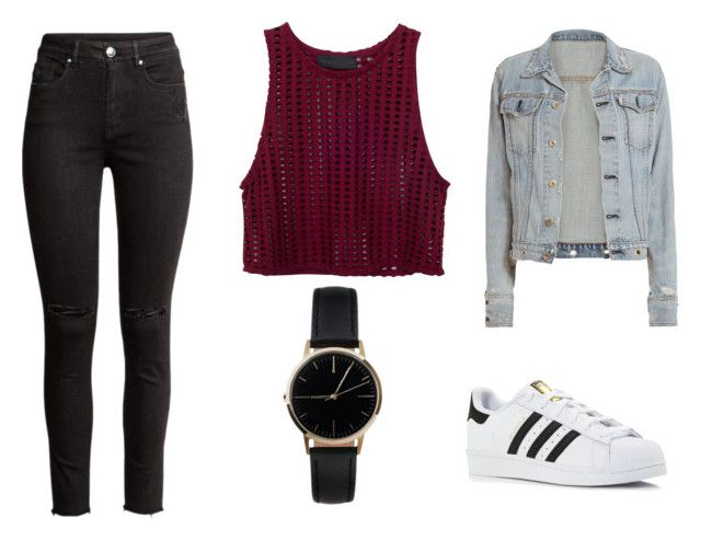 """""""Casual"""" by juanaguzman on Polyvore featuring rag & bone, adidas and Freedom To Exist"""