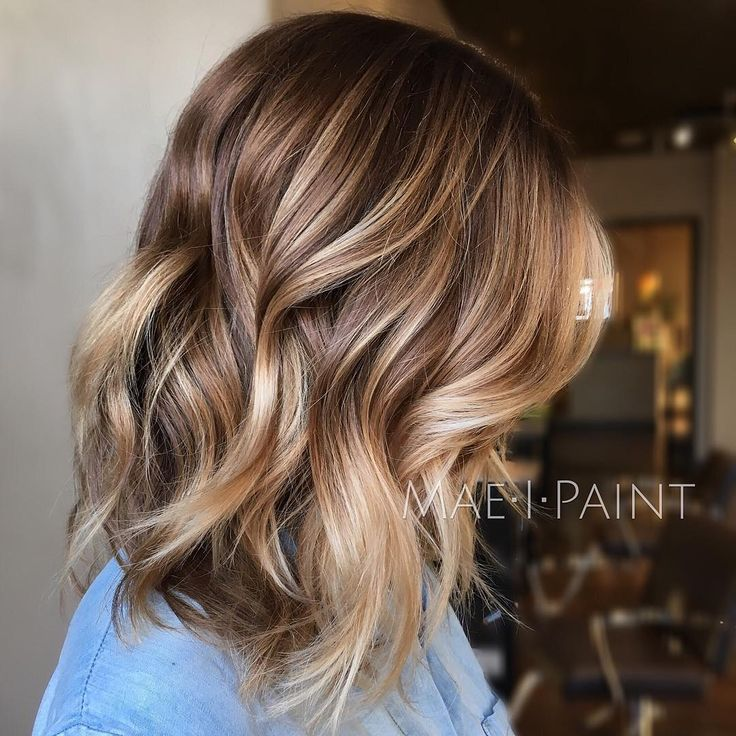 """1,143 Likes, 28 Comments - Marissa Mae Neel (@maeipaint) on Instagram: """"Here's another from earlier this week. I used wella color touch 6/3 on her base and lowlight and…"""""""