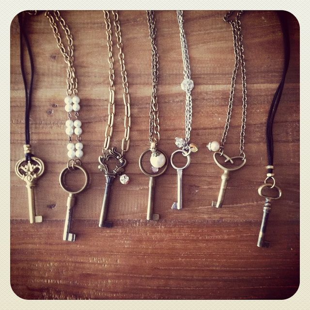 This is such a great idea. I've got to add skeleton keys to my garage sales search list.