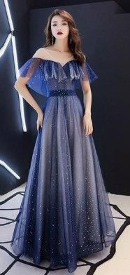 15 Blue Prom Dress Ideas That  Look Beautiful For You