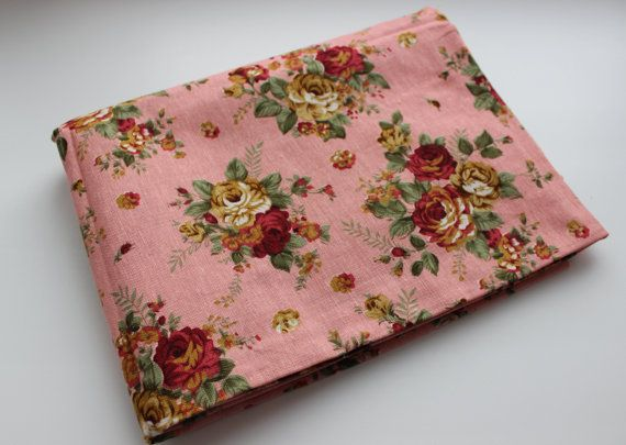 Mix color katoen/linnen stof rozen door meter