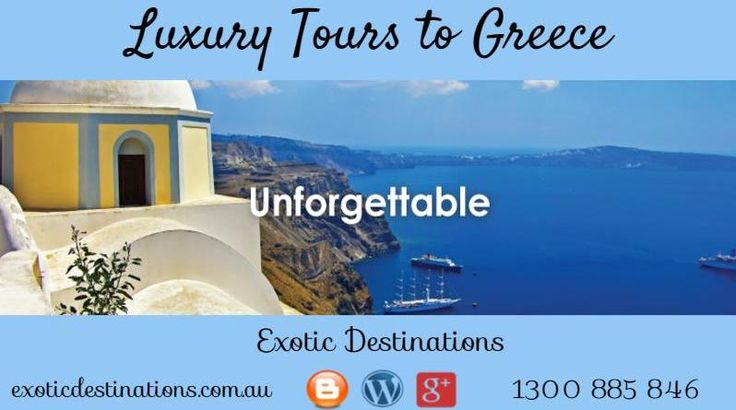 Greece is one of the most beautiful and interesting countries where people can go.At Exotic Destinations you get best holiday packages for Greece.