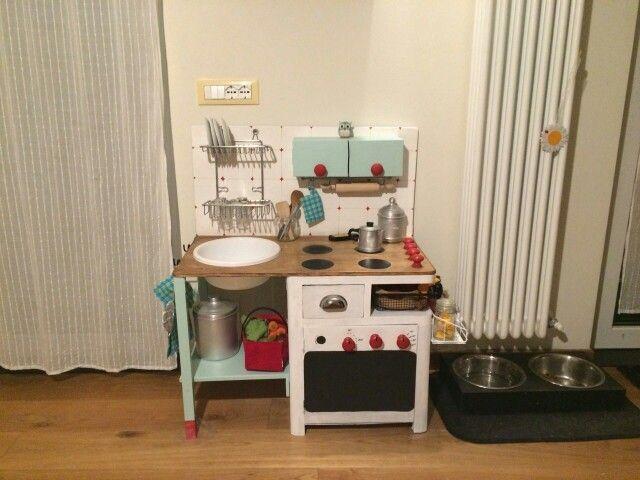 My work...play kitchen