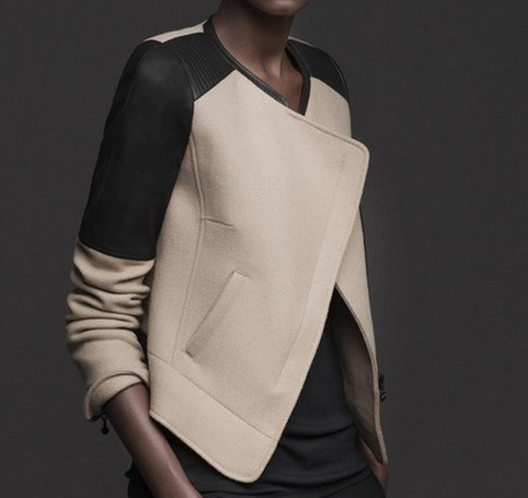the one fall inspiration - keeping it simple with black and camel - from @· ZARA ·