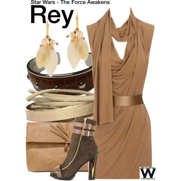 Inspired by Daisy Ridley as Rey in 2015's Star Wars The Force Awakens.