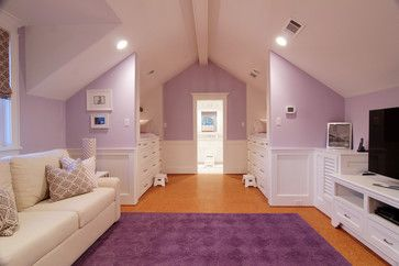 """Benjamin Moore French Lilac paint""  Amazing color and love the hardwood floors paired with it."