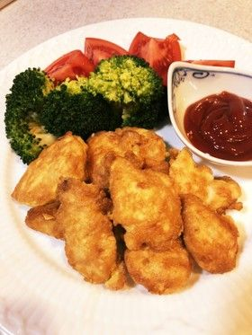 【お弁当】鶏ささみのチーズピカタ by momoogi 【クックパッド】 簡単おいしい
