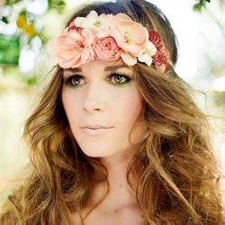 Whimsical boho chic hairpieces from Mignonne Handmade