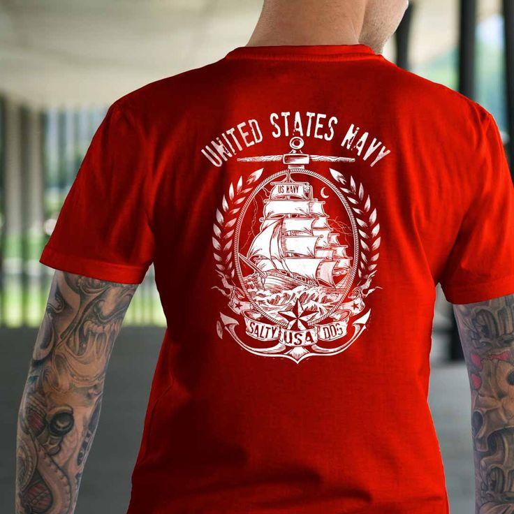 US Navy T-Shirt.  United States Navy T-Shirt.  #America #Comeandtakeit #Guns #Liberallunacy #Livefreeordie #Patriot #Pc #Pew #Politicalcorrectness #Secondamendment #Sonsoflibertytees #Threepercent