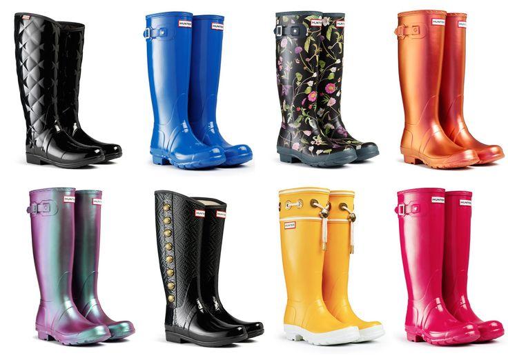 bottes de pluie femme hunter