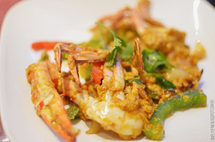 Crab in curry