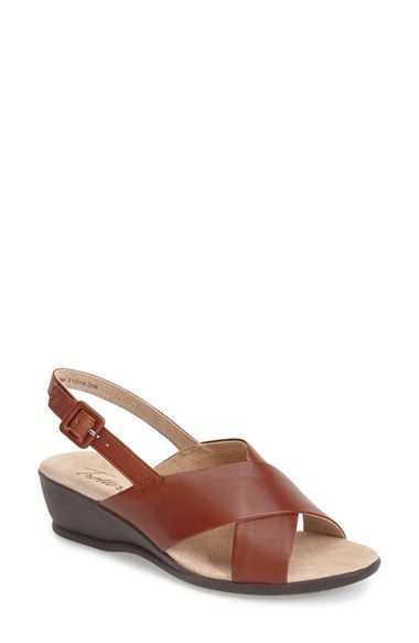 Trotters 'Lee' Wedge Sandal (Women) available at #Nordstrom - good lower