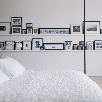 gallery shelf