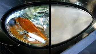 Headlight Restoration using Toothpaste - YouTube