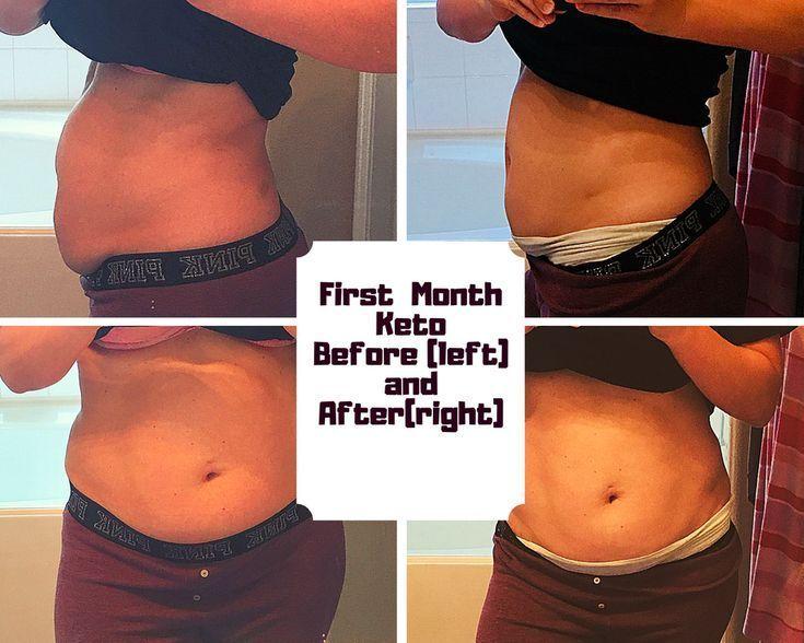 Vor und nach dem ersten Monat Ketogene Diät-10 Pfund nach unten !!! pumpkinsmug…