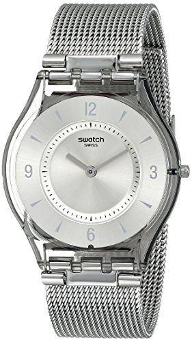 Swatch Metal Knit SFM118M Ladies Watch