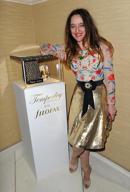 """""""Alice Temperley unveils her gorgeous Temperley London for Filofax collection, a collaboration between two fabulous iconic British brands!"""" Ldn Fashion Week a/w 2012"""
