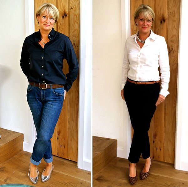 Lady of Style. A Fashion Blog for Mature Women. Such a fantastic way to wear jeans and keep it hip.