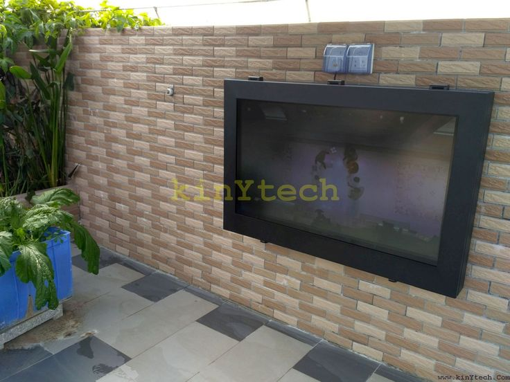 34 Best Outdoor Tv Enclosure Images On Cabinets