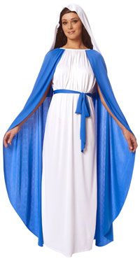 Adult Mary Costume - Christmas Cosplay Costumes http://christmascosplay.com/biblical-cosplay/mary-cosplay