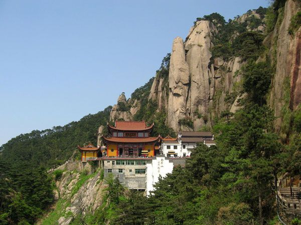 Mount Jiuhua, Huangshan City, Qingyang County, China