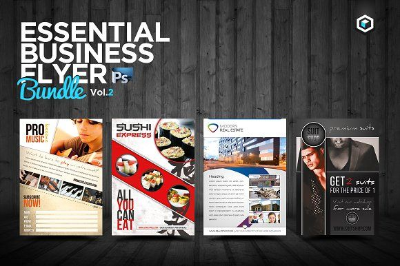 RW Essential Business Flyers Vol 2 by Reclameworks on @creativemarket