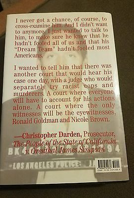 In Contempt Christopher Darden Signed Book First Edition Hardcover OJ Story