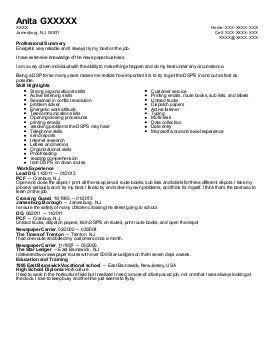 Do not use i in resume