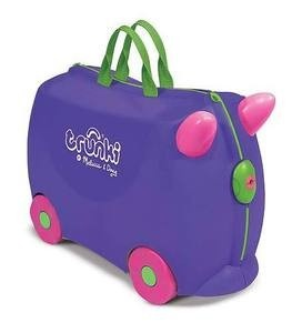 Melissa and Doug Purple Trunki - Iris. I love the Trunki because it makes the journey fun for my 3-year-old.  - Jessica Nolan: Doug Drinks, Gift, Suitcase, Toys, Iris Purple, Irises, Melissa, Kids, Trunki Iris