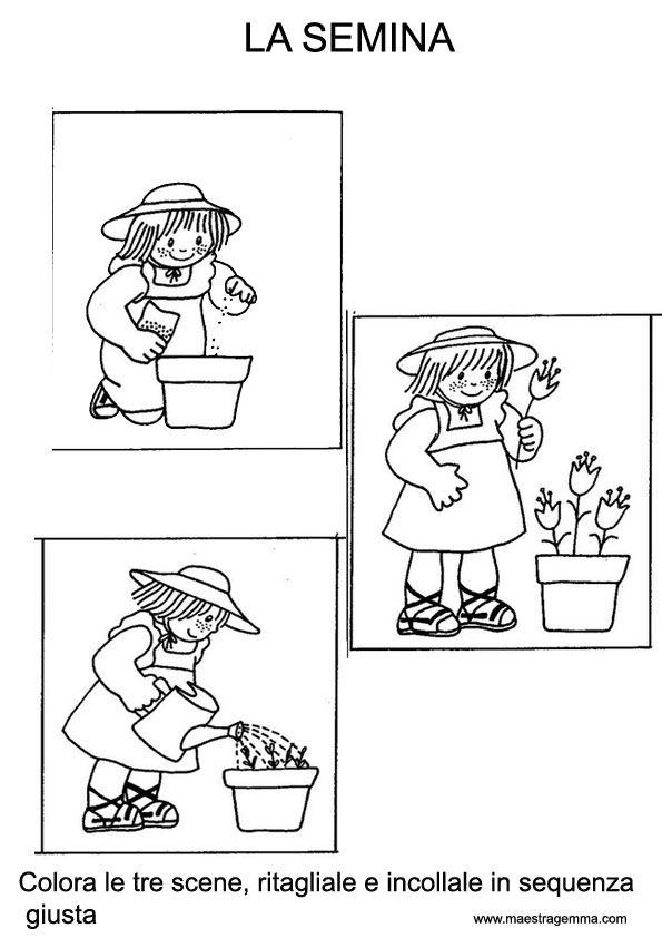 Schede didattiche primavera maestra gemma tavasz spring for Maestra gemma schede inverno