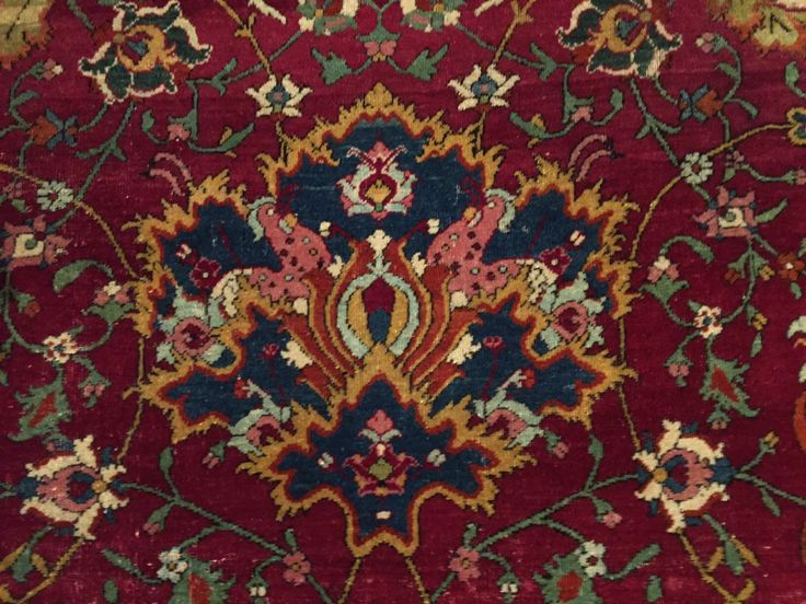 Safavid animal carpet detail MKG - Persian carpet - Wikipedia, the free encyclopedia