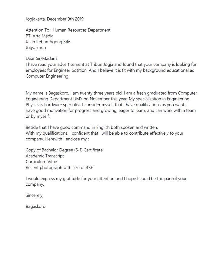 Berikut ini adalah contoh surat lamaran kerja yang baik dan benar untuk. Format contoh surat lamaran kerja di pt tulis tangan yang ...