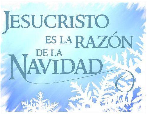 Jesus es la razon de la navidad