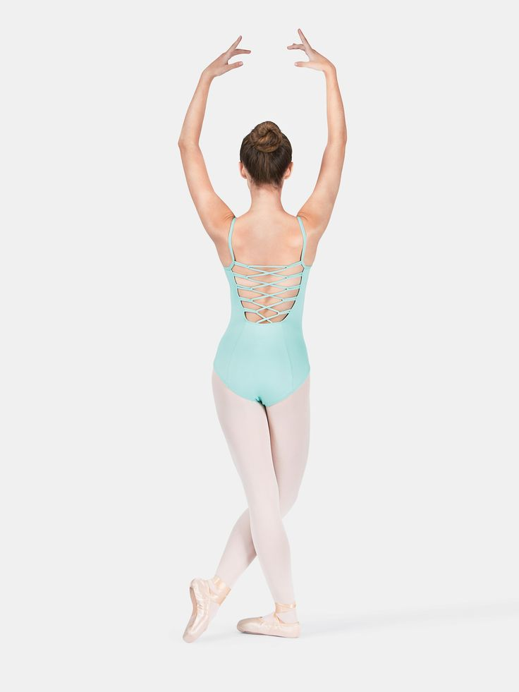 Free Shipping - Adult Pinch Front Loop Back Camisole Leotard by MOTIONWEAR