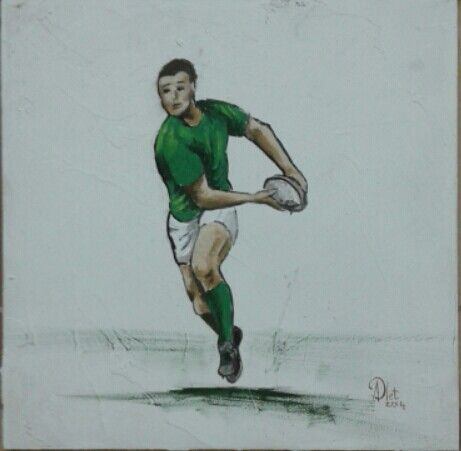 Rugby player 1