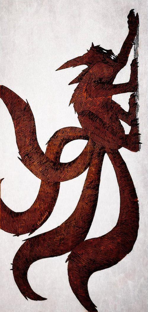 Naruto 4 tails mode