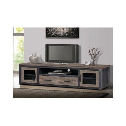Rustic-Entertainment-Center-Unique-TV-Cabinet-Media-Games-Storage-Home-Furniture