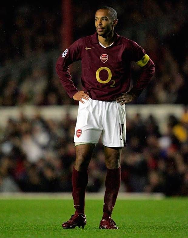 Another Arsenal kit? So Soon. The burgundy was solid, though.