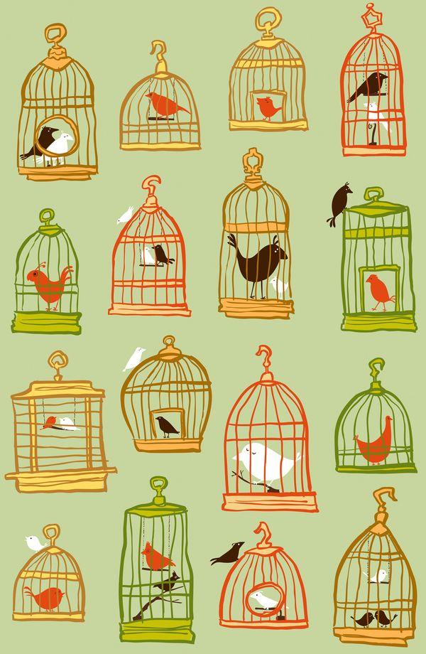 Bird Cages by Sheena Hisiro.