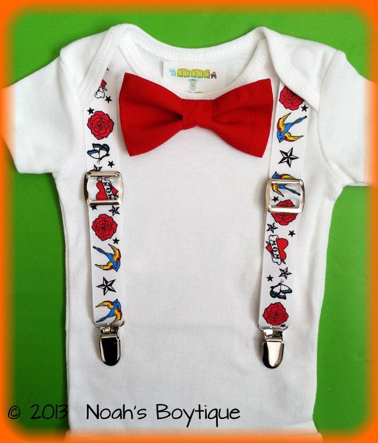 Rockabilly Baby Clothes Rockabilly Baby Boy by NoahsBoytiques, $16.00