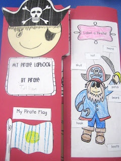 Pirate Themed Lapbook!
